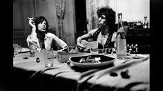 Mick Jagger & Keith Richards, Villa Nellcôte, Villefranche-sur-Mer, 1971