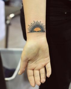nice Tattoo inspiration 2017 - patryk-hilton:Classic #sun #sunshine #landscape #sunset #tattoo...