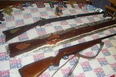 Gun Cake Redneck Birthday, Funny Birthday Cakes, Gun Cakes, Fathers Day Cake, Cakes For Boys, Party Gifts, Fishing Cakes, Cupcake Cakes, Cake Decorating