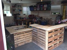 Bar out of pallets