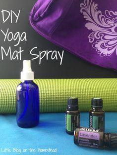 Diy Yoga Mat Spray Sanitizing And Aromatic Benefits