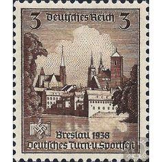 German Reich 1938 - Deutsches Turn- und Sportfest in Breslau - 3 Pfennig **