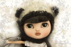 I'm going to miss seeing this little beauty. Wish she was mine! <3 Puh Xan Marywind Icy Doll Custom OOAK | eBay
