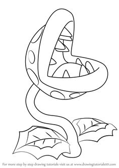 ideas step by step Learn How to Draw Piranha Plant from Super Mario (Super Mario) Step by Step : Dr. Learn How to Draw Piranha Plant from Super Mario (Super Mario) Step by Step : Drawing Tutorials Super Mario Coloring Pages, Cute Coloring Pages, Animal Coloring Pages, Coloring Books, Super Mario Party, Super Mario Bros, Mario And Luigi, Mario Kart, How To Draw Mario