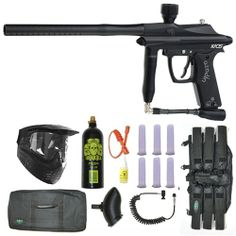 Azodin Kaos Paintball Marker Gun 3Skull Sniper Set - Black. Available at Ultimate Paintball!  http://www.ultimatepaintball.com/p-4643-azodin-kaos-paintball-marker-gun-3skull-sniper-set-black.aspx