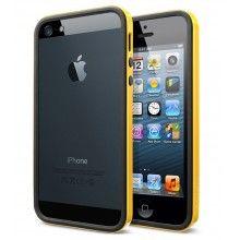 Custodia iPhone 5 Spigen SGP Neo Hybrid EX Slim Vivid Series - Giallo Reventon  € 28,99