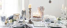 Christmas table (The White Company)