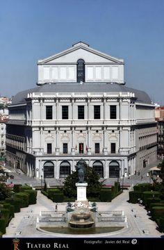 Teatro Real Madrid España.
