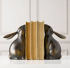 bunny bookends - set of 2 I want these for girls