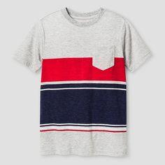 Boys' Classic Stripe Pocket T-Shirt Cat & Jack™ : Target