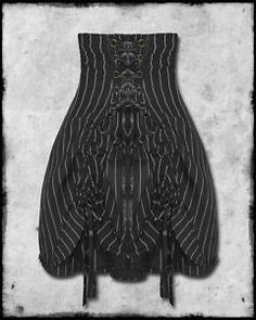 SPIN DOCTOR STEAMPUNK VICTORIAN PINSTRIPE CORSET SKIRT | eBay Spin Doctors, Costume Ideas, Costumes, Steampunk Costume, Spinning, Corset, Revolution, Victorian, Skirts