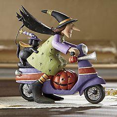 Scooty Boo from Williraye Studio Halloween Pictures, Halloween Crafts, Halloween Decorations, Halloween Tricks, Halloween Ideas, Clay Dolls, Art Dolls, Childhood Fears, Witch Art