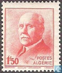 Algeria - Marshal Philippe Pétain 1942