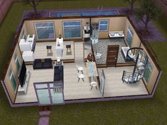small and simple sims freeplay house sims pinterest sims