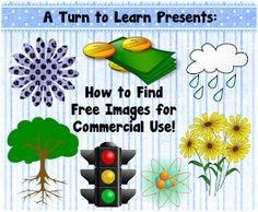 A Turn to Learn: How to Find Free Clipart and Images for Your TPT Items!