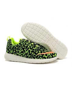 100% authentic 7f990 a3b79 Nike Roshe Run Fb Mens Shoes Shop Leopard Green