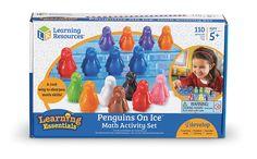Learning Resources Kit d'Activités de Maths Pingouins Sur la Glace: Amazon.fr: Jeux et Jouets