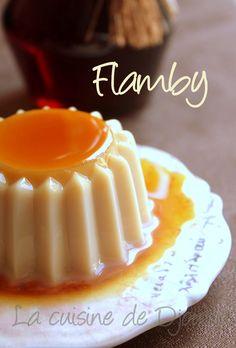 Flamby vanille maison sans oeuf