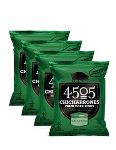 4505 Chicharrones (Fried Pork Rinds) (Jalapeno Cheddar), ...