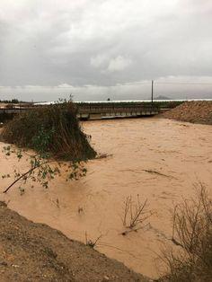 Protección Civil incluye datos como velocidad del agua y calado al Plan Inunmur sobre zonas inundables
