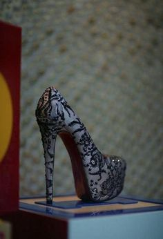 Lace High Heel.