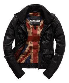 Superdry Megan Flag Jacket - black