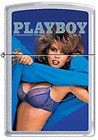 Zippo Playboy June 1987 Cover Satin Chrome Windproof Lighter NEW RARE