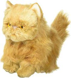 Nat and Jules Small Persian Cat Friend Muted Orange Children's Plush Stuffed Animal Toy : Amazon.com.au: Toys & Games