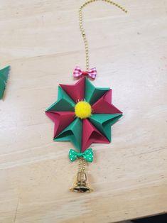 크리스마스 모빌 크리스마스카드 쉬운크리스마스모빌 : 네이버 블로그 Christmas Diy, Christmas Decorations, Christmas Ornaments, Holiday Decor, Diy And Crafts, Crafts For Kids, Diy Origami, Lessons For Kids, Blog