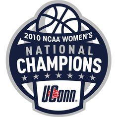 basketball championship logo   UConn 2010 NCAA Women's Basketball National Champions Logo Fathead