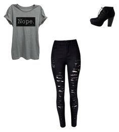 """Boys & girls night out "" by alejandra-martinez-738 on Polyvore featuring WithChic"