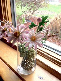 {3 Beautiful pink Daisies by Goreti}