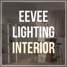 In this article we will go through and look at lighting interiors in Blenders real time render engine Eevee