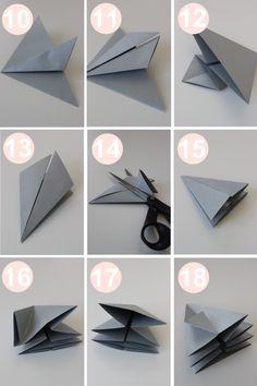 At folde en diamant kan lyde, som noget kun den skarpeste japaner kan mestre! Men faktisk er det meget simpelt. Alt det kræver er noget ikke for tykt papir, gerne gavepapir. Følg denne tutorial nøje og bemærk først og fremmest, hvordan man skal gøre præcis det samme dobbelt op. Brug en limpistol til at lukke …