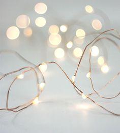 Fairy Lights   Warm White   Copper