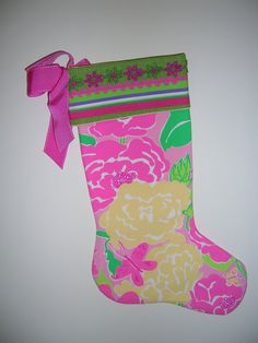 I want a Lilly Pulitzer stocking