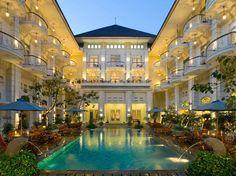 The Phoenix Hotel, Yogyakarta, Java, Indonesia.