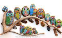 Painted rocks..
