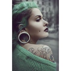 body modification ~ style or not?  Tumblr on Polyvore