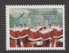 Stamp by Claude Le Sauteur depicting the Supreme Court of Canada Religion, World 2020, Canada Post, Supreme Court Justices, Love Stamps, Stamp Collecting, Country Of Origin, So Little Time, Postage Stamps