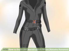 Image titled Dress Like Marvel's Black Widow (Natasha Romanov) Step 4