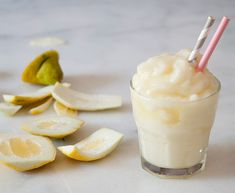 Batido fresco de limon