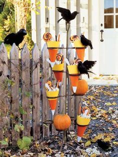 Halloween Craft Ideas for Kids - Halloween Craft Projects - Country Living