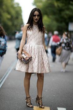 Milan Fashion Week SS17 Street Style: Day 2                                                                                                                                                                                 More