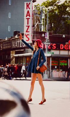 #TBT: Karlie Kloss in the Best NYC Campaign Ever // Free People // New York City