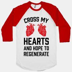 Cross My Hearts And Hope To... | T-Shirts, Tank Tops, Sweatshirts and Hoodies | HUMAN
