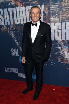 Michael Bolton | All The Red Carpet Looks At SNL 40
