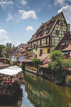 Colmar, France such a beautiful town! Just like the town in Beauty and the Beast :) Belle France, France 3, Oh The Places You'll Go, Places To Travel, Places To Visit, Vacation Destinations, Dream Vacations, Wonderful Places, Beautiful Places