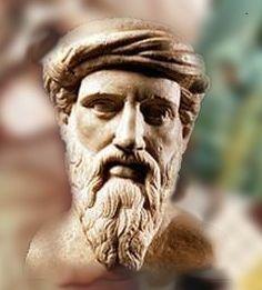 Pitágoras fue un filósofo y matemático griego considerado el primer matemático puro. Contribuyó de manera significativa en el avance de la matemática helénica, la geometría y la aritmética, derivadas particularmente de las relaciones numéricas, y aplicadas por ejemplo a la teoría de pesos y medidas, a la teoría de la música o a la astronomía. Es el fundador de la Hermandad Pitagórica.