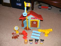 Mickey Mouse weeble wobble playhouse.  Loved it!
